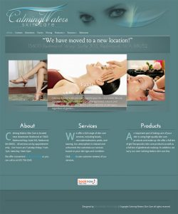 Calming Waters Skin Care design by Brian Sniff