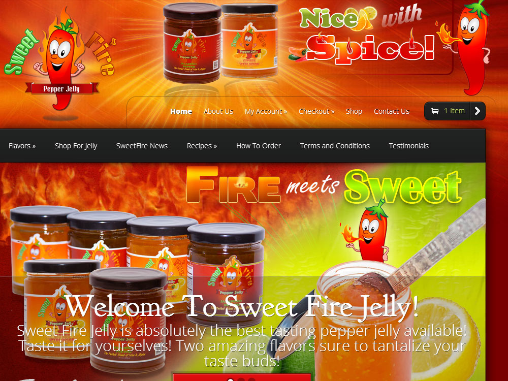 Sweet Fire Jelly