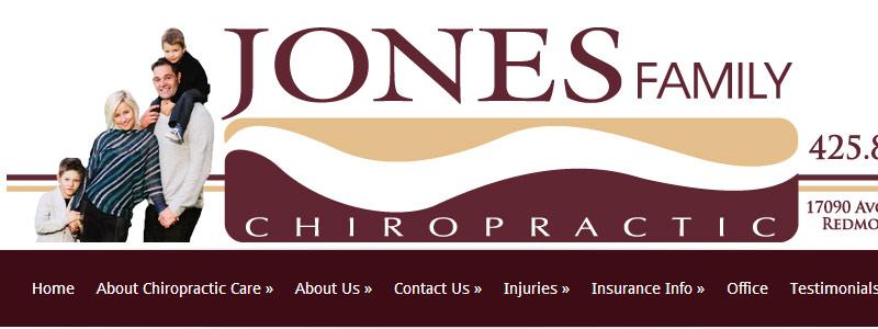 Jones Family Chiropractic Redesign