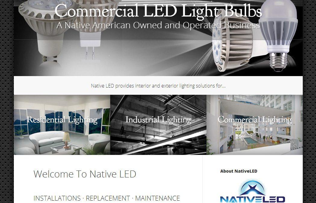 Native LED Website