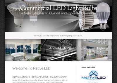 Native LED Website